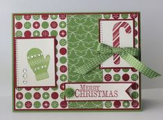 Be of Good Cheer dsp, Make a Mitten & Scentsational Season stamp sets
