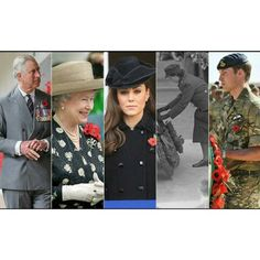 Ahead of Remembrance Sunday take a look back at British royals attending previous ceremonies