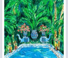 A resort state of mind, Lilly Pulitzer