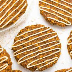 Healthy Pumpkin Spice Latte Oatmeal Cookies Recipe | Yummly