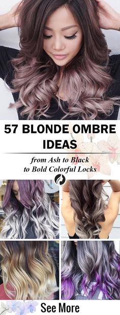 We've collected the 57 photos with cute ombre blonde hair in differend tones: ash, black, silver, white, colorful locks. Get ready to meet your new month with these amazing and totally ombre hair color! ★ See more: http://glaminati.com/ideas-for-blonde-ombre-hair/?utm_source=Pinterest&utm_medium=Social&utm_campaign=CG-ideas-for-blonde-ombre-hair-13072016