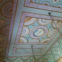 18th century ceiling, Nostell priory
