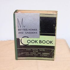 My Better Homes and Garden Cookbook 1931 Third Edition