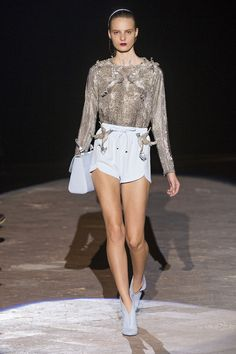 Francesco Scognamiglio Spring 2013 Ready-to-Wear Fashion Show - Tilda Lindstam