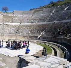 The Biblical City of Ephesus. Great photos of ancient bible archeology