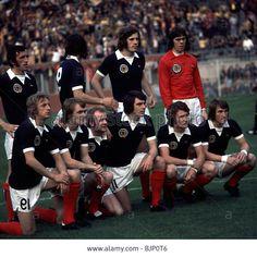 1974 World Cup Finals 1st Rnd Zaire V Scotland The Scotland Team Line Stock Photo, Royalty Free Image: 28757798 - Alamy