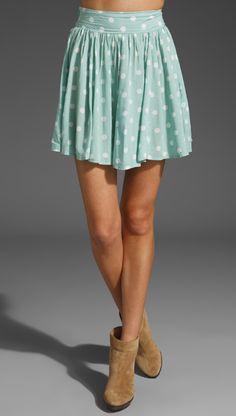 Peppermint Patty Skirt