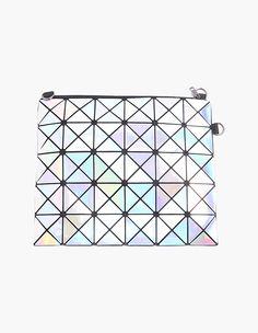 Valentines Day Ideas For Her Hologram & Metal Stylish Women Sliver Clutch Bag vovobag