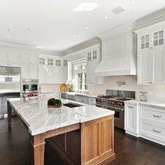 Side by Side Refrigerators, Transitional, kitchen, The Guberman Group
