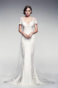 "Pallas Couture ""Fleur Blanche"" Spring/Summer 2014 Bridal Collection"