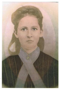 Great-Great Grandmother, Jenny Riley c. 1878