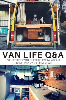 Advice on living in a van for a year. Got a #VanLife question to add?