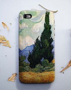 Cypresses Van Gogh iphone 6 case, iPhone 6S case, Iphone 6 plus cover, Samsung Galaxy Case, art, painting