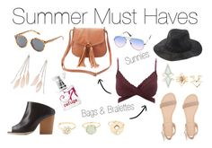 """""""Summer Must Haves"""" by charlotterusse ❤ liked on Polyvore featuring Charlotte Russe, Qupid, Refuge, Summerflow and CharlotteLook"""