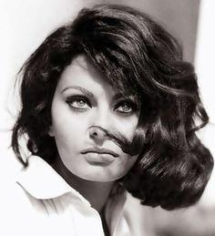 ethereality (wehadfacesthen: Sophia Loren, 1960s)