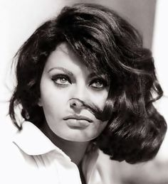 Sophia Loren - nothing could be improved with this photo or the subject of the photo