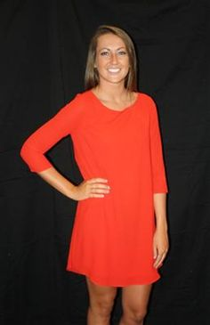 Buddy Love Dress in Red - the Piper