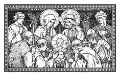 medieval nativity - Google Search