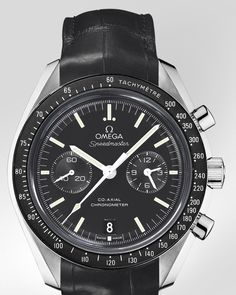 Moonwatch Omega Co-Axial Chrono - A little busy, but I like it!