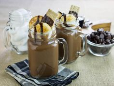 Get the recipe for this decadent s'mores cocktail on HGTV.com.