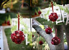 Esferas de flores naturales. Tutorial.