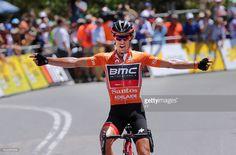 #TDU 19th Santos Tour Down Under 2017/ Stage 5 - Men Arrival / Richie PORTE (AUS) Orange Leader Jersey / McLaren Vale - Willunga Hill 382m (151,5Km)/ BikeExchange Stage / Men / TDU / pool JV / ©Tim De WaeleKT/Tim De Waele/Corbis via Getty Images)