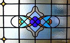 Glas in lood motief
