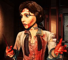 What's the difference between a woman and a girl? Bioshock Game, Bioshock Series, Bioshock Cosplay, Video Game Art, Video Games, Bioshock Infinite Elizabeth, Elizabeth Comstock, Beyond Two Souls, Just A Game