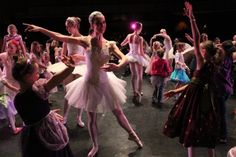 BYU Theatre Ballet have Prince and Princess Parties to connect with the audience.