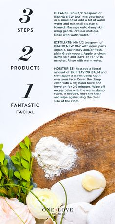 3-2-1! A One Love Organics skincare routine that is organic, natural, and only requires 2 products!