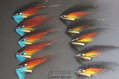 The only ten flies you need. Salmon Tube Flies The Usual. Den vanlige. Original and Dark Var. Tied by Torve @ Scandiflies.com