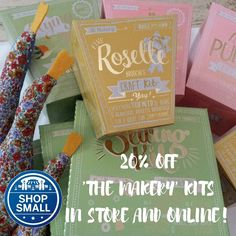 Aimed at those from ages 10 to 110 these fab Makery Kits would make a fab Christmas present and could be something to do together! For a limited time we have 20% off! Enjoy! #smallbizsatuk