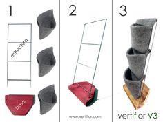 Vertiflor | Huerto vertical de sobremesa