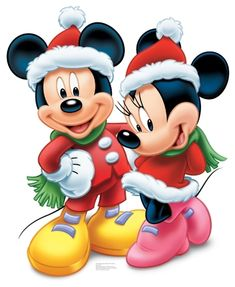 Appealing Disney Mickey and Minnie Mouse Christmas Standup. Alluring collection of Mickey Mouse & Minnie Mouse Cutouts & Standups for Birthday at PartyBell. Disney Mickey Mouse, Natal Do Mickey Mouse, Mickey Mouse E Amigos, Minnie Mouse Christmas, Mickey Mouse And Friends, Disney Fun, Disney Magic, Mickey And Minnie Love, Christmas Cartoons