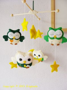 Green Owls Mobile