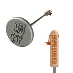 A unique gift that he'll love: BBQ branding irons featuring NCAA college logos Unique Wedding Gifts, Unique Gifts, Ncaa College, Branding Iron, Sports Gifts, Team Gifts, Good Ol, Irons, Groomsman Gifts