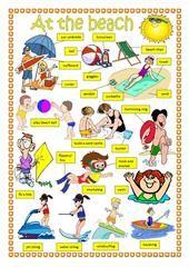 Summer time worksheet - Free ESL printable worksheets made by teachers