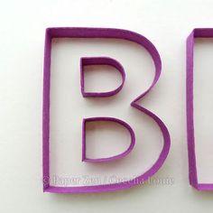 Paper Zen: Quilling Letters 101 - Part 3 Joining Corners