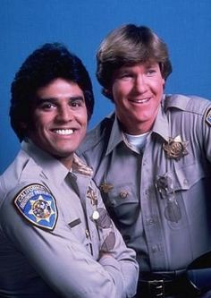 Created by Rick Rosner.  With Erik Estrada, Larry Wilcox, Robert Pine, Paul Linke. The adventures of two California Highway Patrol motorcycle officers.