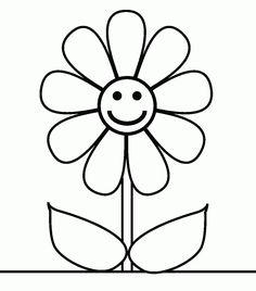 Dibujos Para Colorear E Imprimir | flores para colorear e imprimir-dibujos-de-margarita-colorear-d7.gif