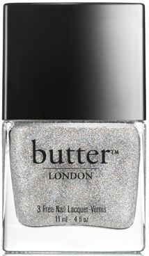butter LONDON Stardust Overcoat Nail Lacquer | Sheer, silver holographic overcoat. Brush on top of any butter LONDON lacquer to transform the shade, or use alone. A magical sprinkling of the stars and a dreamlike sense of well-being.