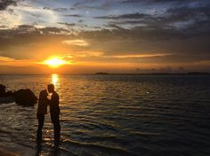 See the love? Do you? Is it a love?  #sunset #nature #indonesia