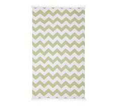 Chevron Rug.  this is out of stock online, but you could check with your local store.  It could also be a possible DIY if you're up for it.