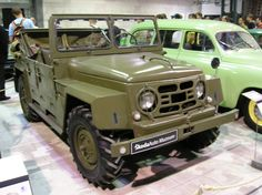 Development of a new light truck for the Czechoslovakian Army began in and low level production began in Only thirty were produced by and production was terminated in favor of the Soviet Jeep Willis, 4x4, Vw Group, Mini Trucks, Cold War, Car Car, Military Vehicles, Cars And Motorcycles, Vintage Cars