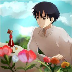 Karigurashi no Arrietty die wundersameweld der borger  anime manga kawaii cute süß girl and boy x shou love liebe