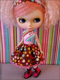 easy party dress, cute and simple to make. follow the link for the free pattern. <3