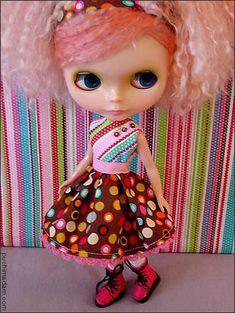 Free Pattern: Blythe Party Dress