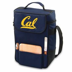 Picnic Time Duet Wine and Cheese Tote - University of California Berkeley