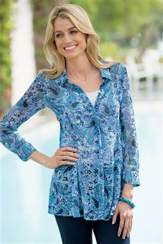 Button-Front-Paisley-Print-Tunic