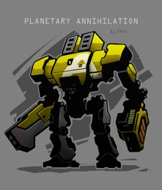 Planetary Annihilation Game